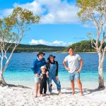 Short Term Family Holiday Accomodation Fraser Island at the Lake