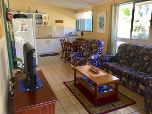 Fraser Island Happy Valley Unit 1 Kitchen