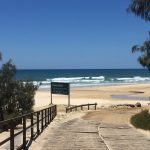 The track to your Family Holiday Accomodation at Elenora on Fraser Island located at Happy Valley