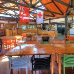Dinner at Happy Valley Fraser Island pub is top place for dinner stay at Elenora AirBnB Accomodation