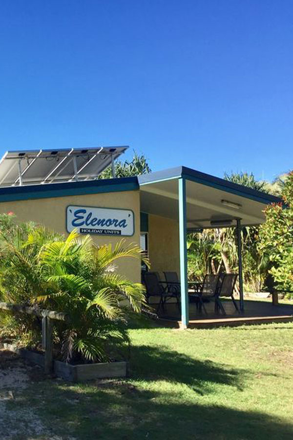 Elenora on Fraser Unit 1 - Perfect for Short Stay AirBNB Accommodation at Happy Valley Fraser Island