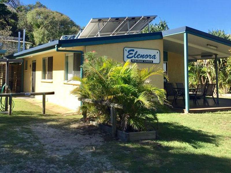 Unit 1 of Elenora on Fraser Island Short Stay Accomodation Options