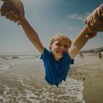 Kids love Elenora Accomodation at Happy Valley Fraser Island